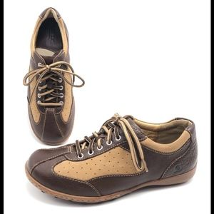 Born 7M Brown Oxfords Sneakers Flats Walking Shoes